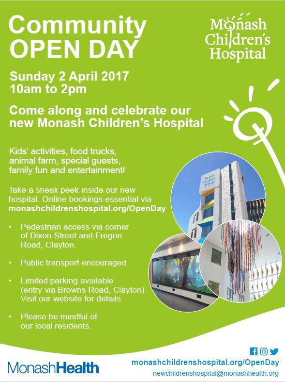community-open-day-pdf-thumb - Monash Children's Hospital