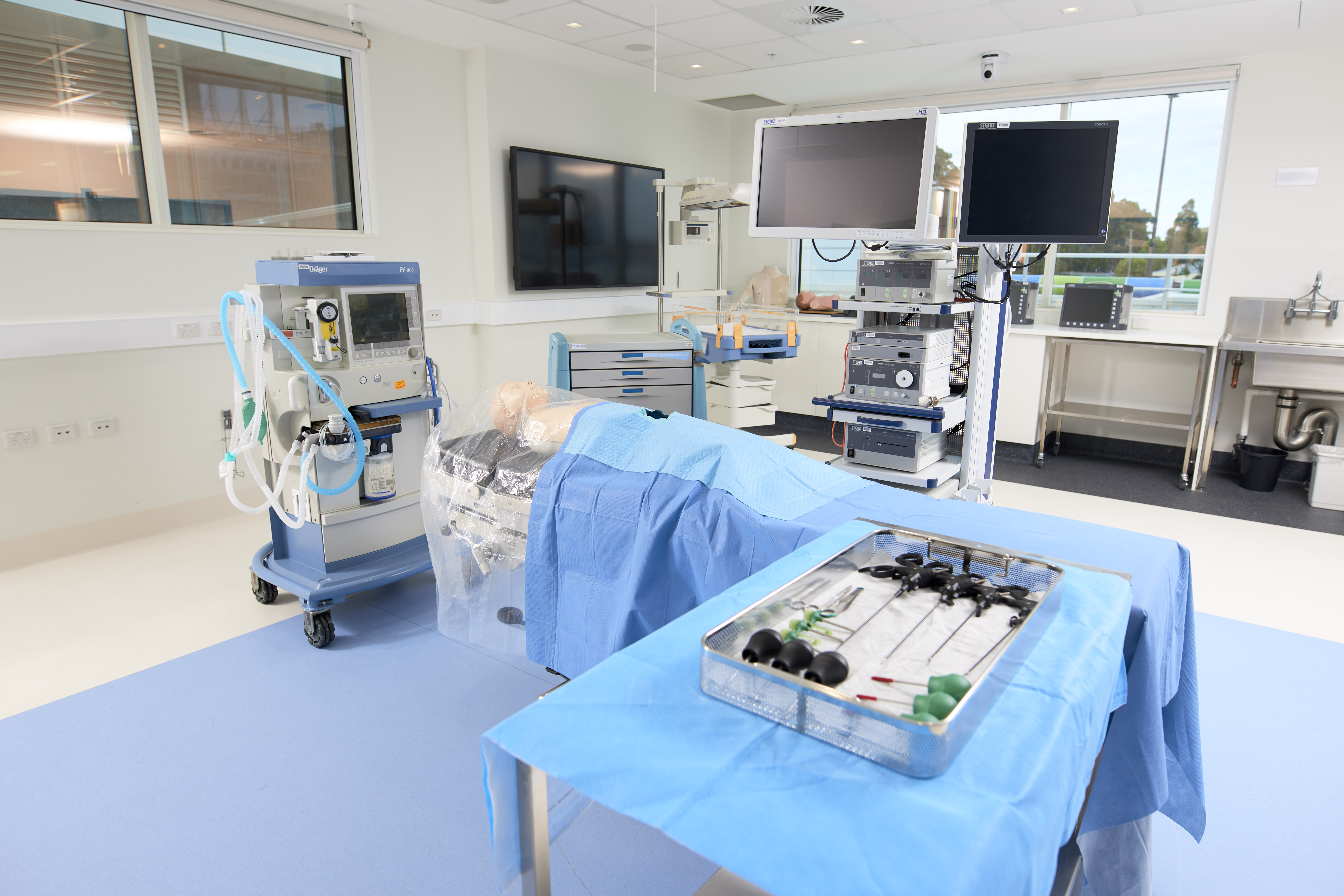 Simulation Centre stock images. Copyright Monash Health. Not for use without prior written permission.