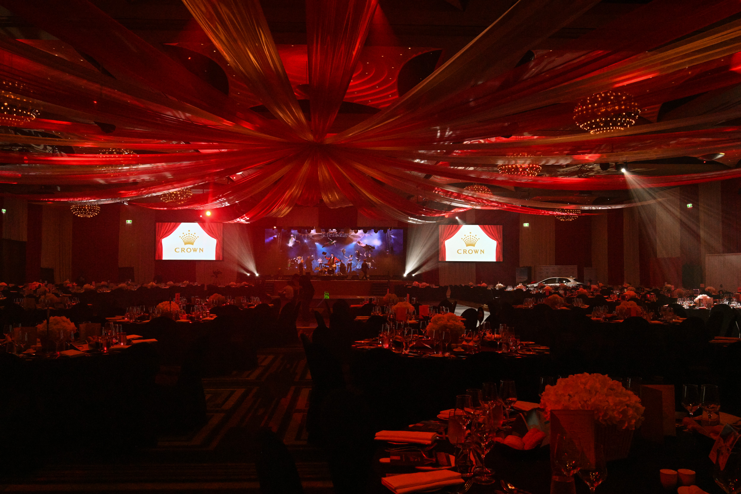 Inside the ballroom for the 2019 Dandelion Wishes Gala