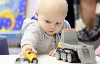 Monash Children's Cancer Centre patient